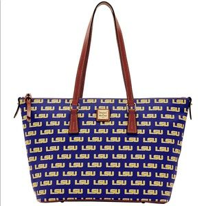 NWT Dooney and Bourke LSU tote